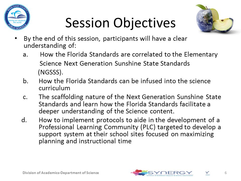 Session Objectives By the end of this session, participants will have a clear understanding of: