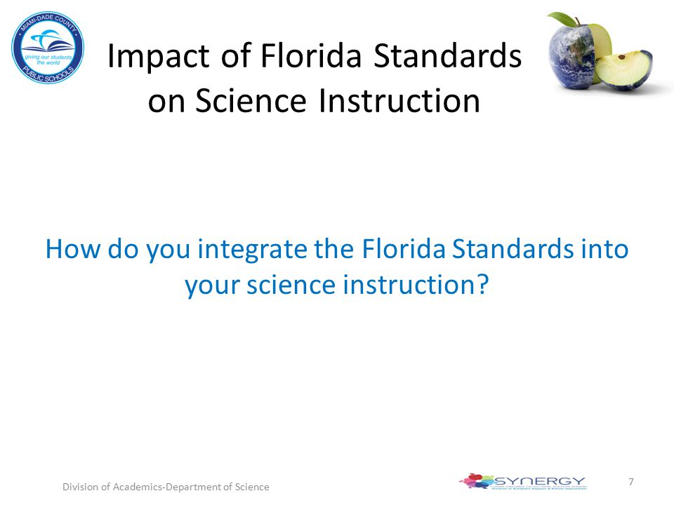 Impact of Florida Standards on Science Instruction