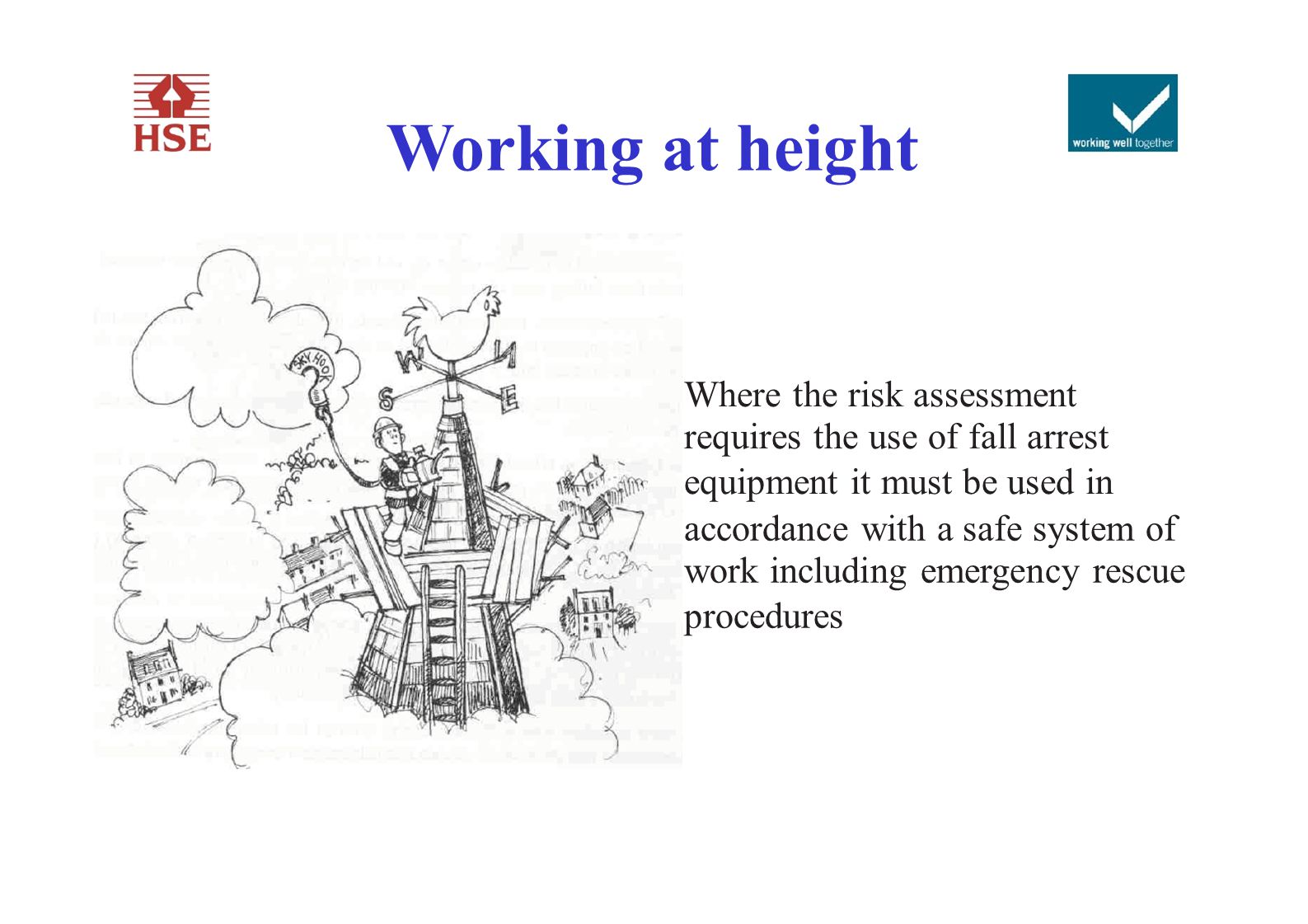 safe system of work for equipment at height Transport safety manual issue number: 2 date: risk assessments and safe system of work measure the maximum height of the machine from the ground.
