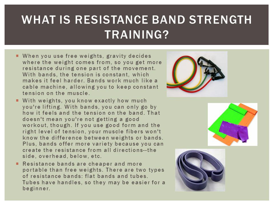 What is Resistance Band Strength Training