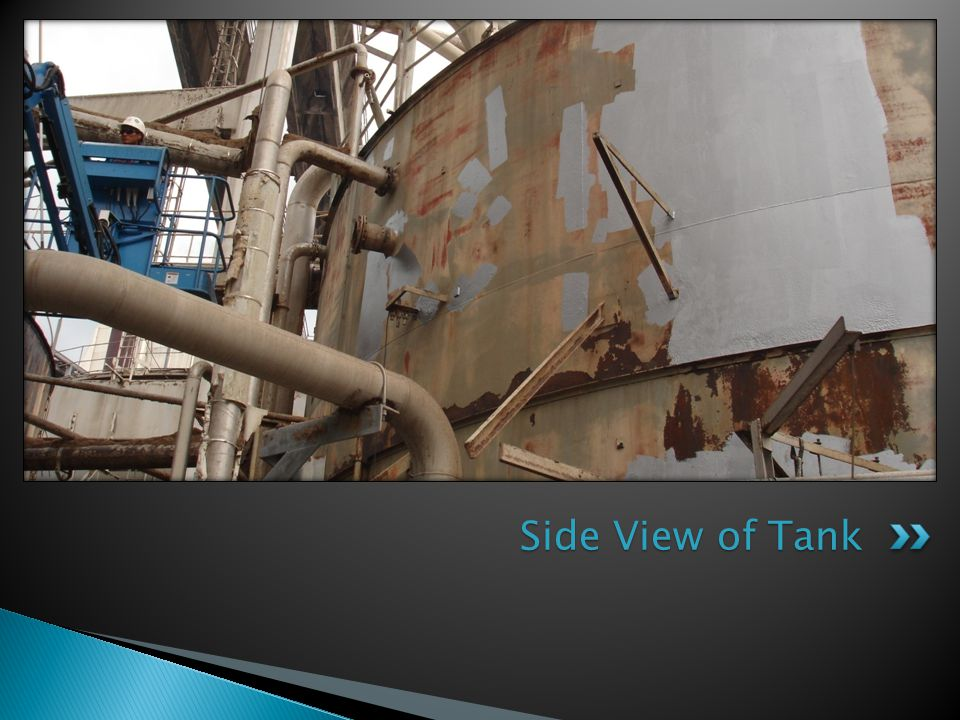 Side View of Tank