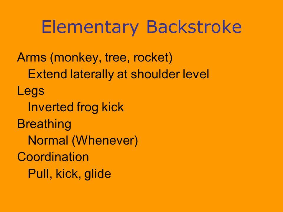 Elementary Backstroke