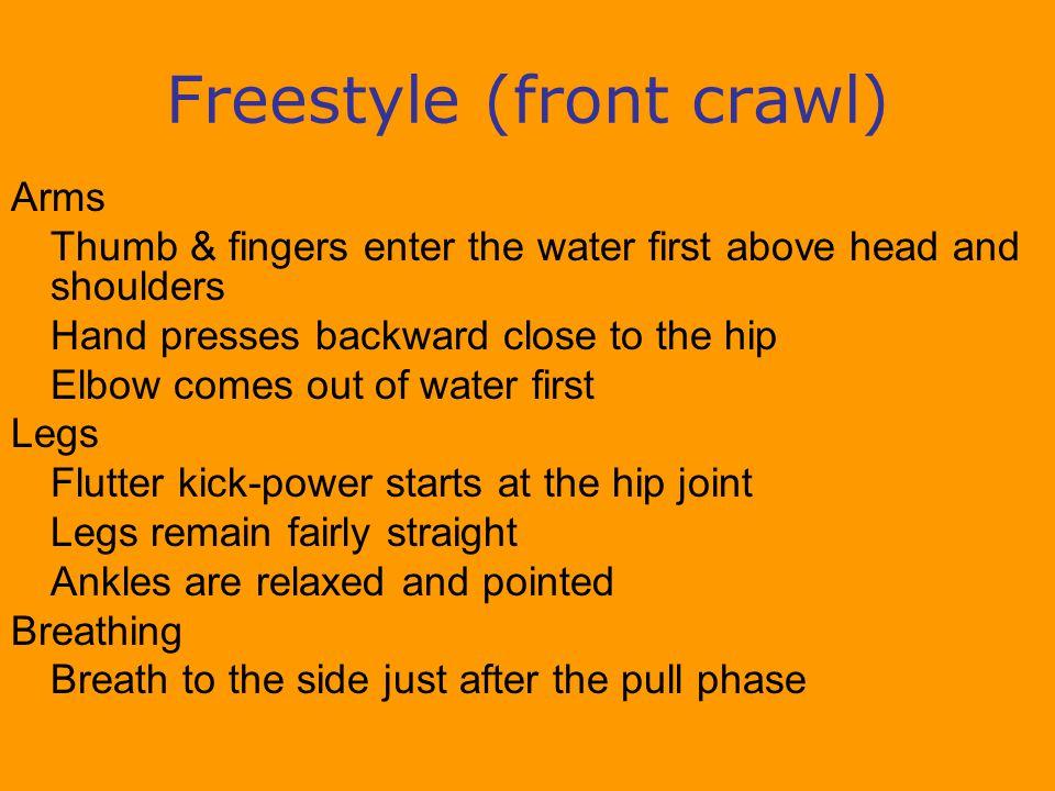 Freestyle (front crawl)