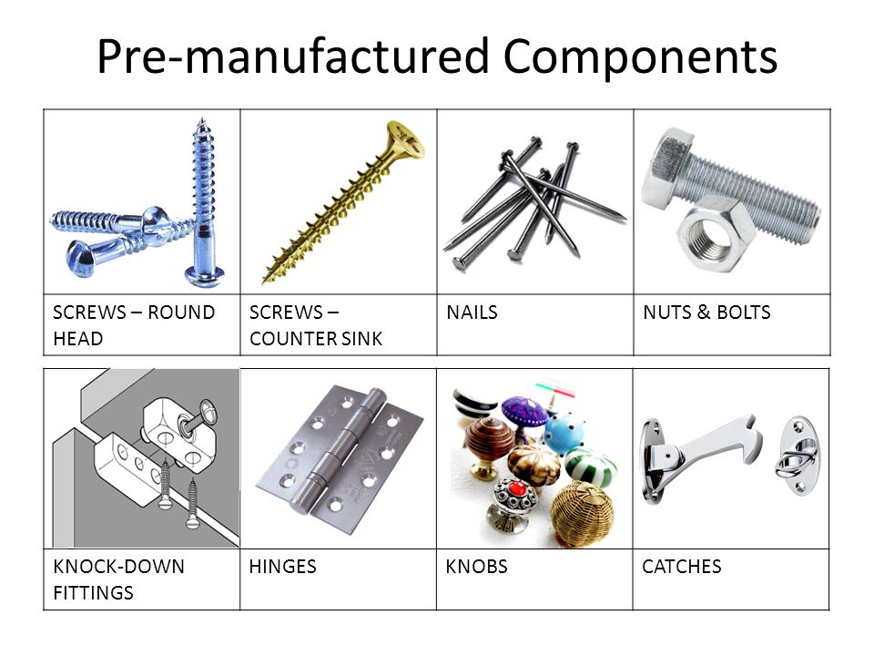Pre-manufactured Components