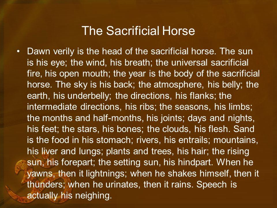 The Sacrificial Horse