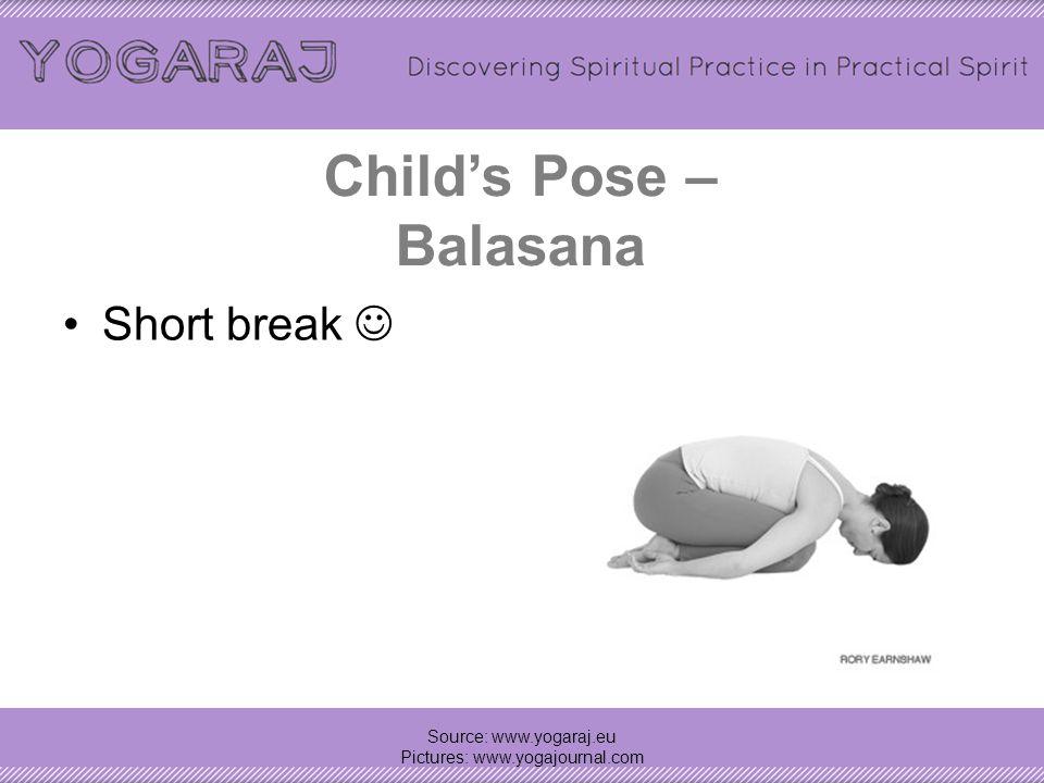 Child's Pose – Balasana