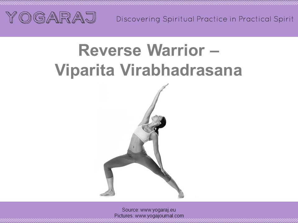 Reverse Warrior – Viparita Virabhadrasana