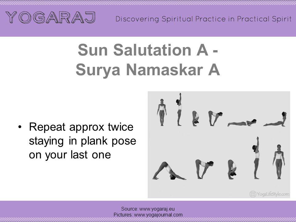 Sun Salutation A - Surya Namaskar A