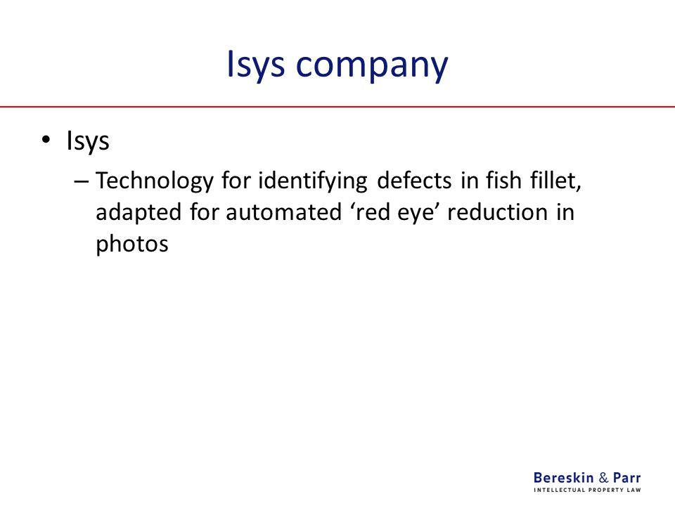 Isys company Isys.