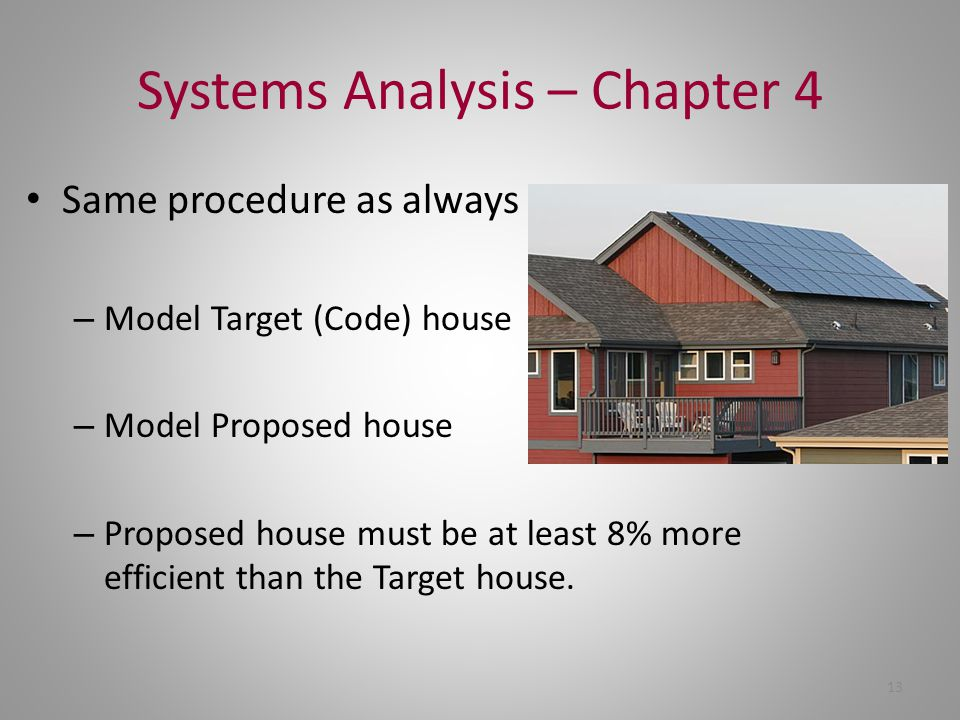 Systems Analysis – Chapter 4