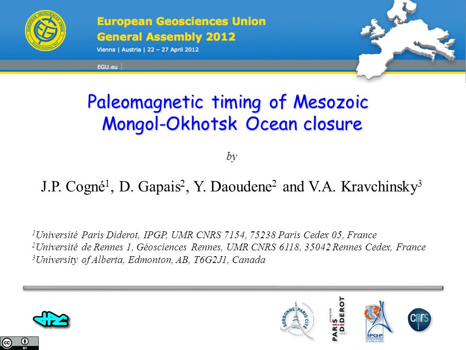 Paleomagnetic timing of Mesozoic Mongol-Okhotsk Ocean closure