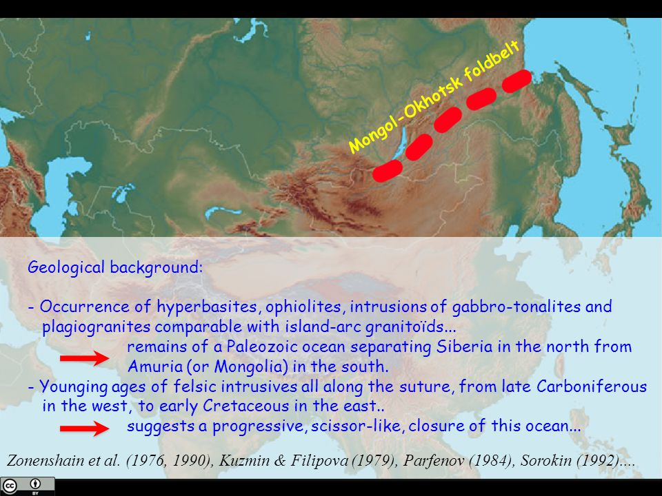 Mongol-Okhotsk foldbelt