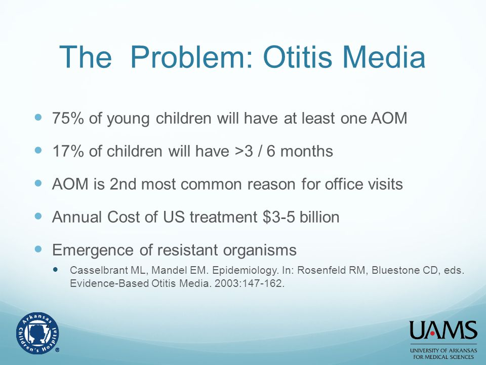 The Problem: Otitis Media
