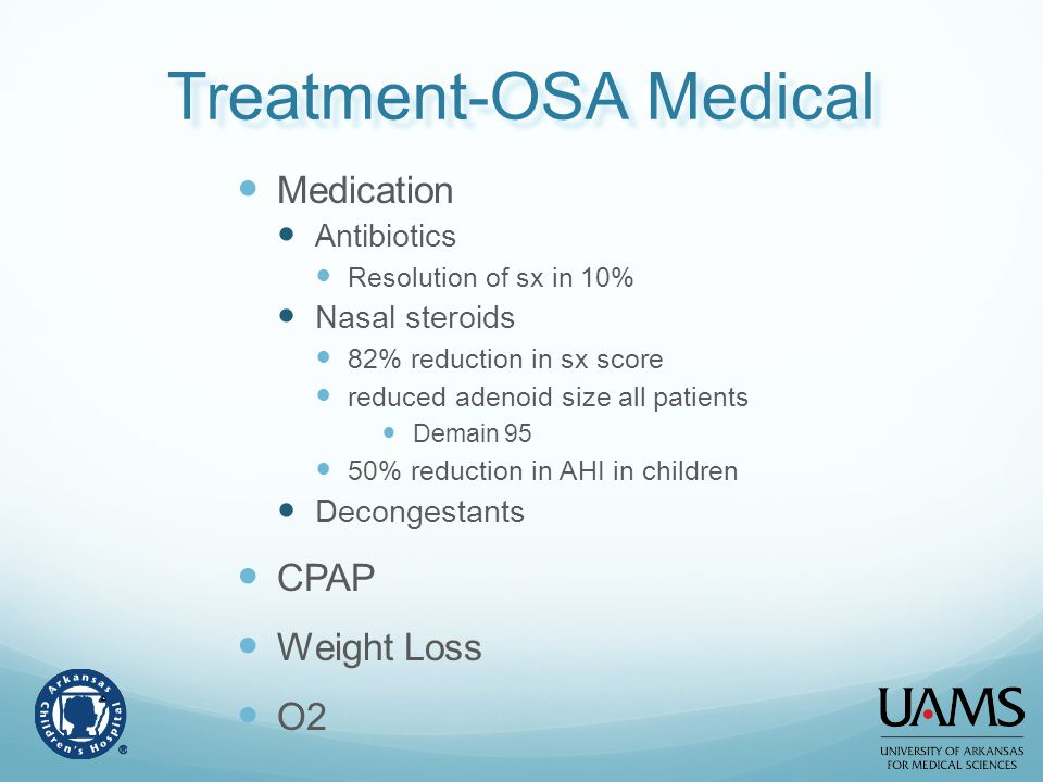 Treatment-OSA Medical