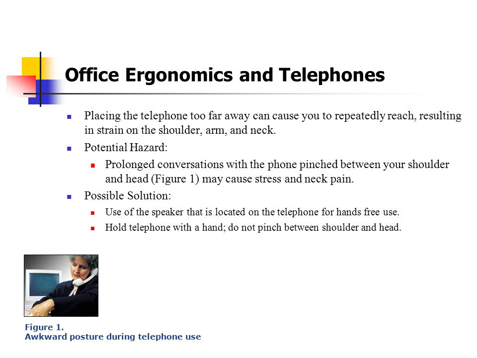 Office Ergonomics and Telephones