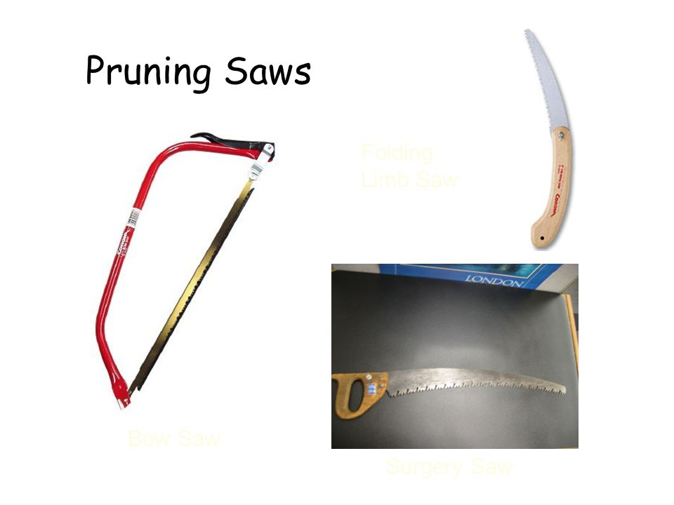 Pruning Saws Folding Limb Saw Bow Saw Surgery Saw Pruning Saws