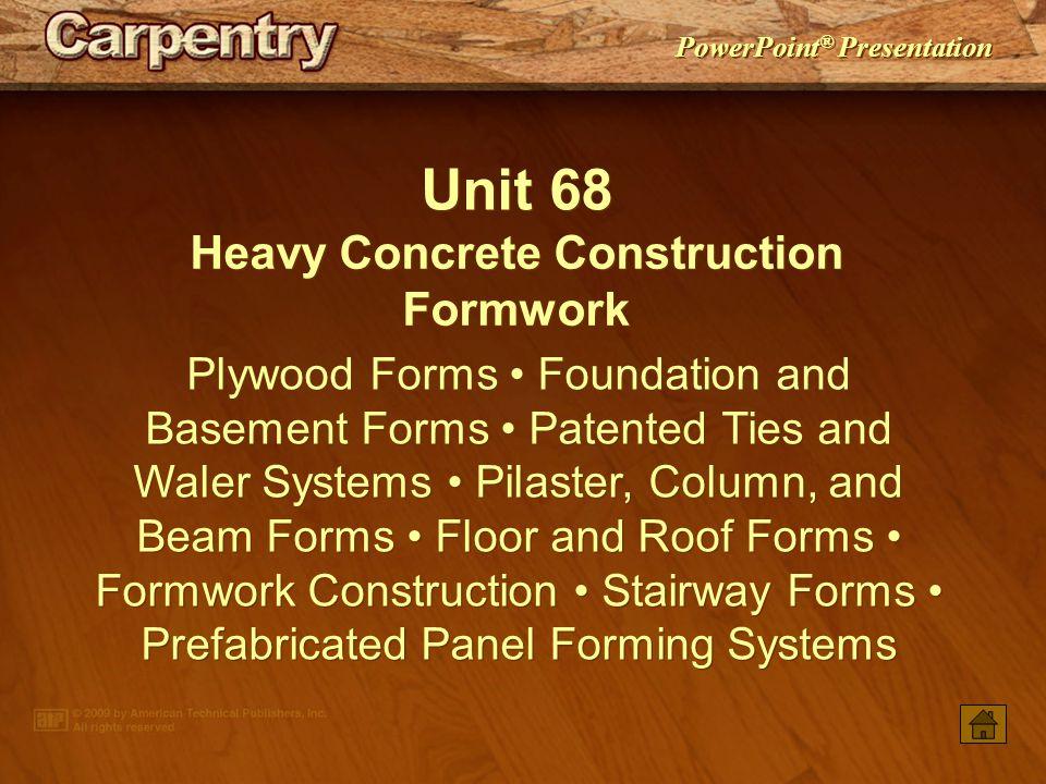 Heavy Concrete Construction Formwork