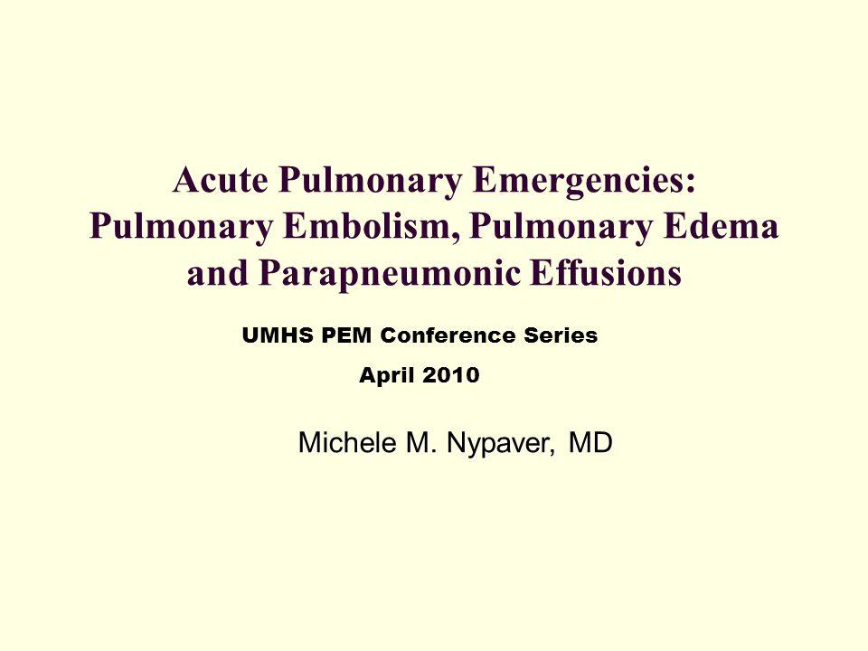 UMHS PEM Conference Series