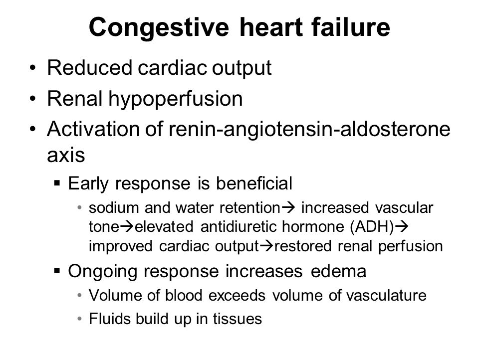 Congestive heart failure