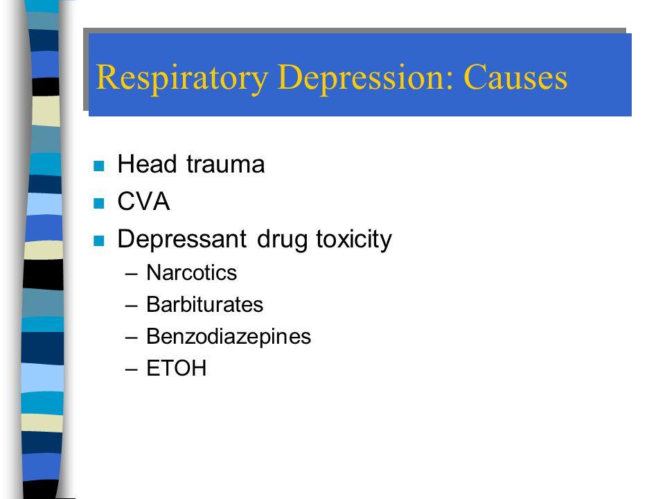 Respiratory Depression: Causes