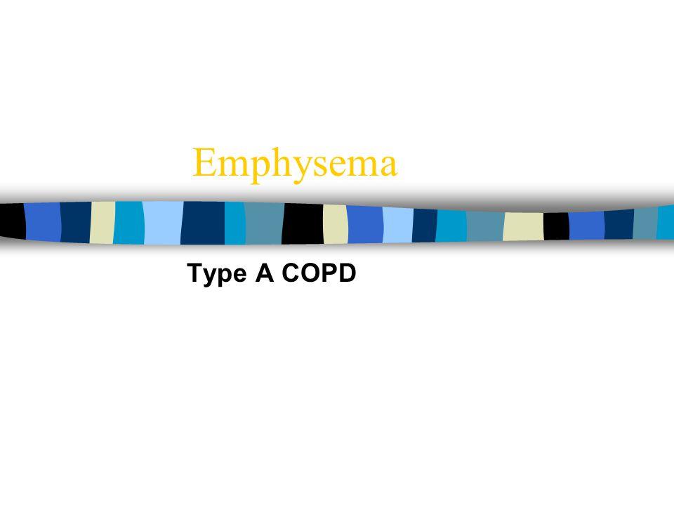 Emphysema Type A COPD