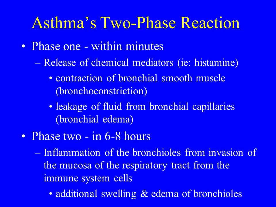Asthma's Two-Phase Reaction
