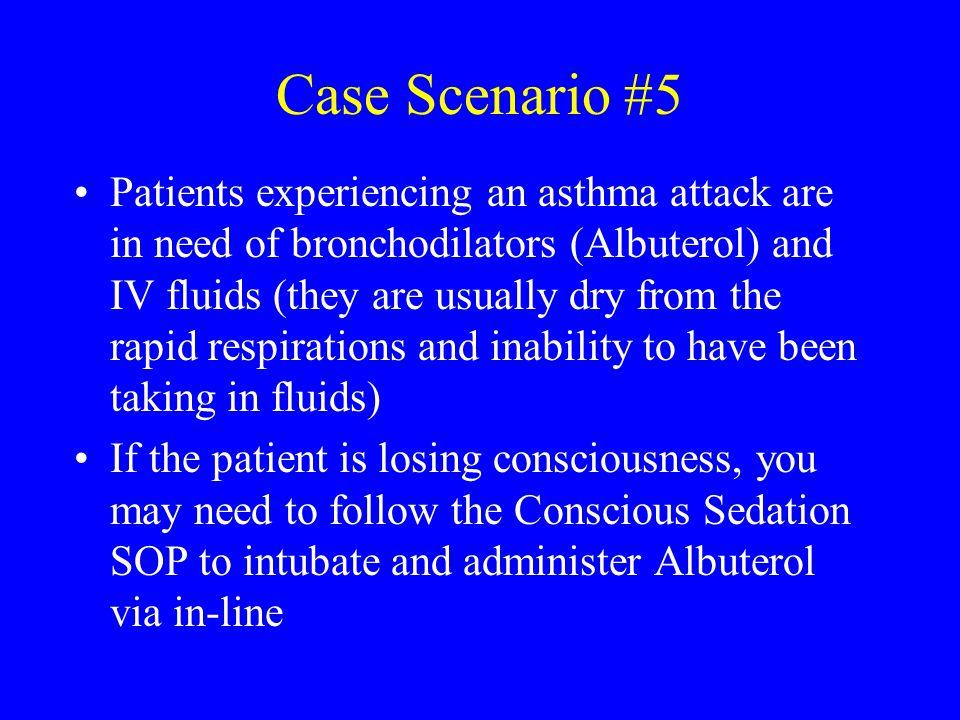 Case Scenario #5