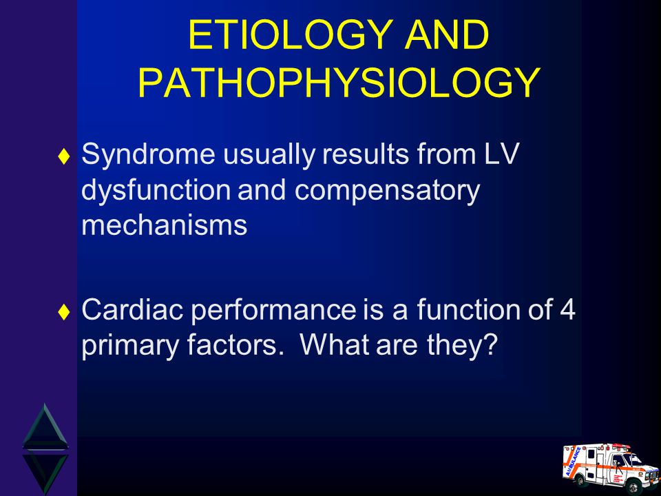ETIOLOGY AND PATHOPHYSIOLOGY