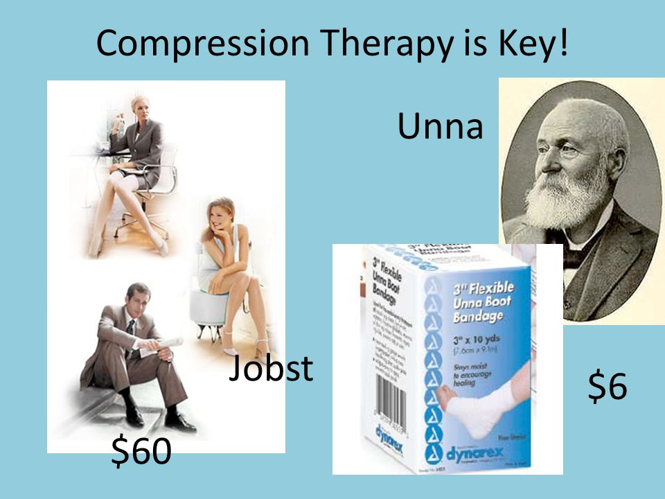 Compression Therapy is Key!
