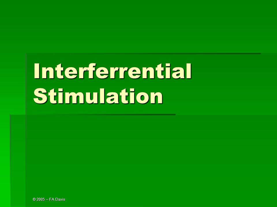 Interferrential Stimulation
