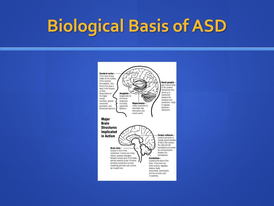 Biological Basis of ASD