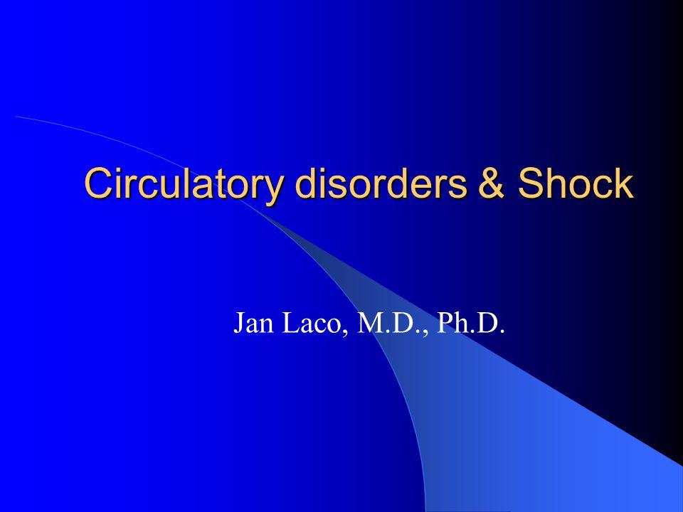Circulatory disorders & Shock
