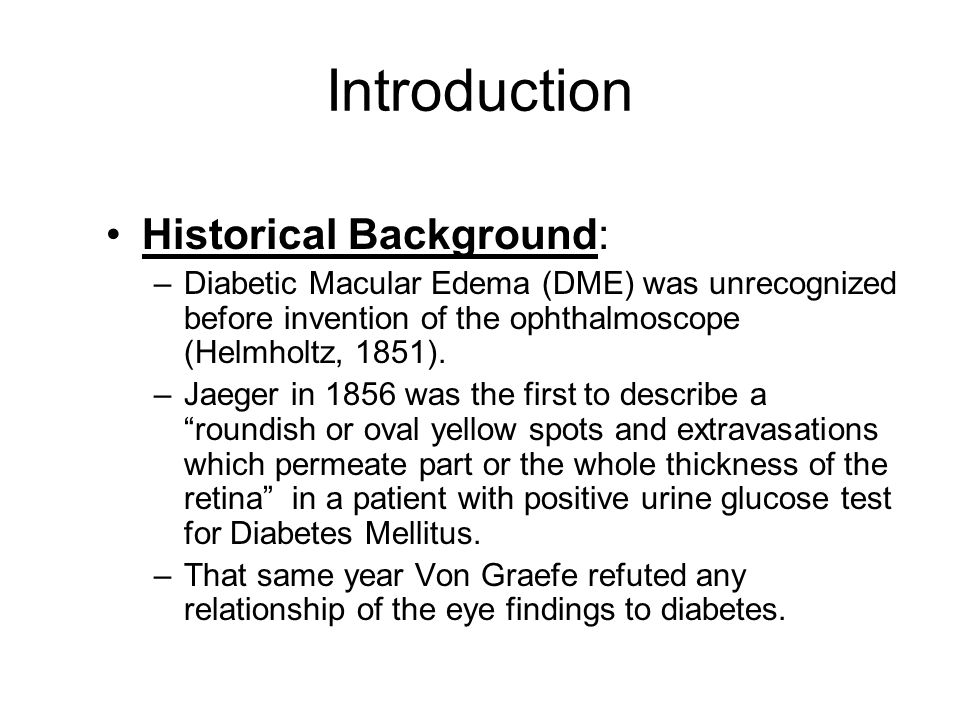 Introduction Historical Background: