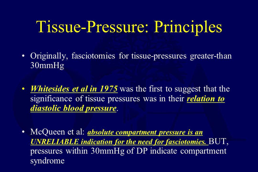 Tissue-Pressure: Principles
