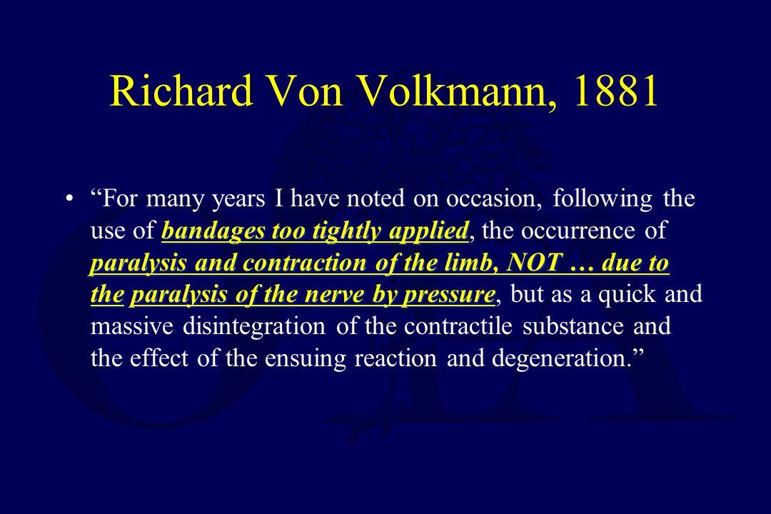 Richard Von Volkmann, 1881