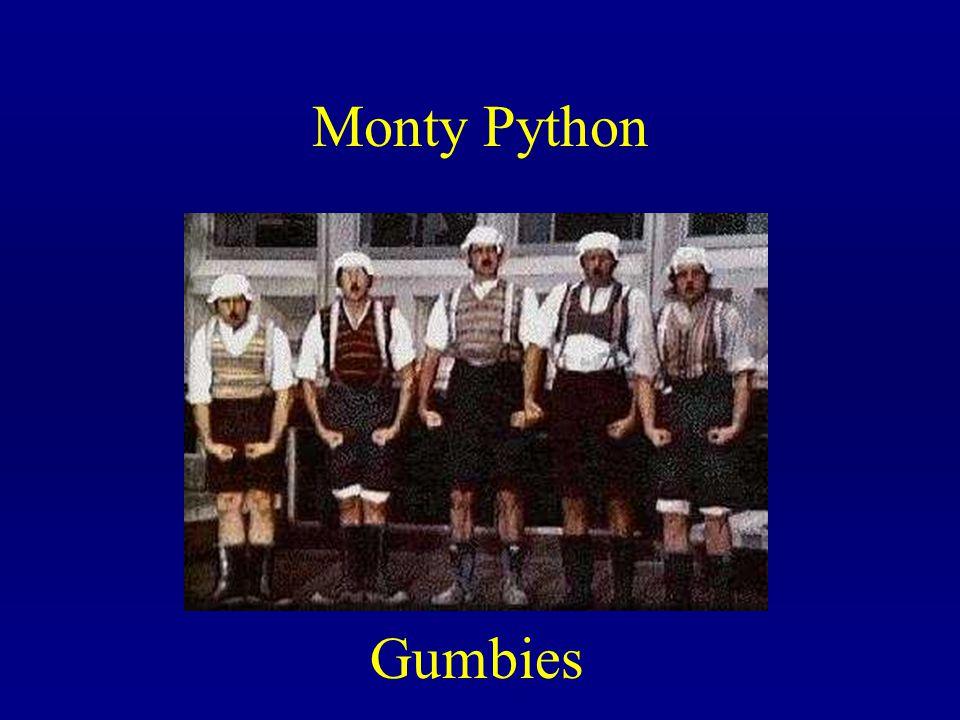 Monty Python Gumbies