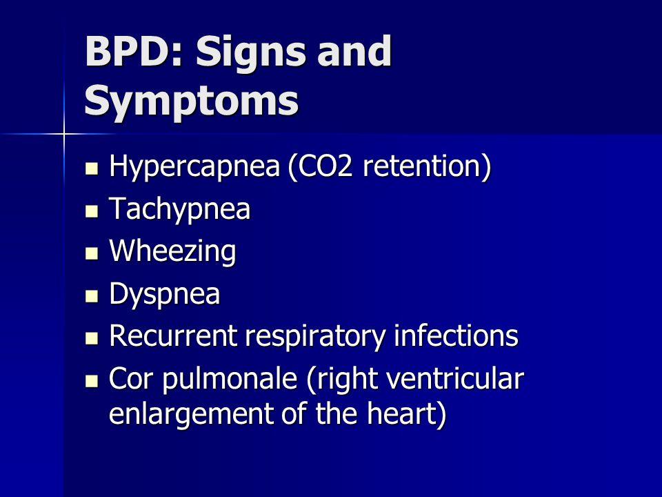 BPD: Signs and Symptoms