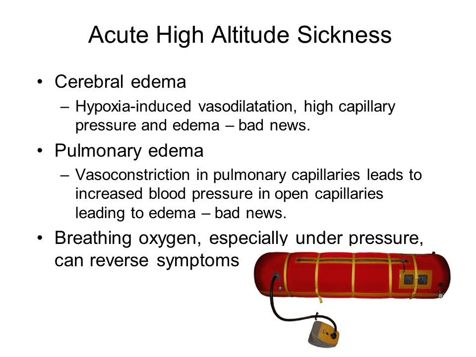 Acute High Altitude Sickness