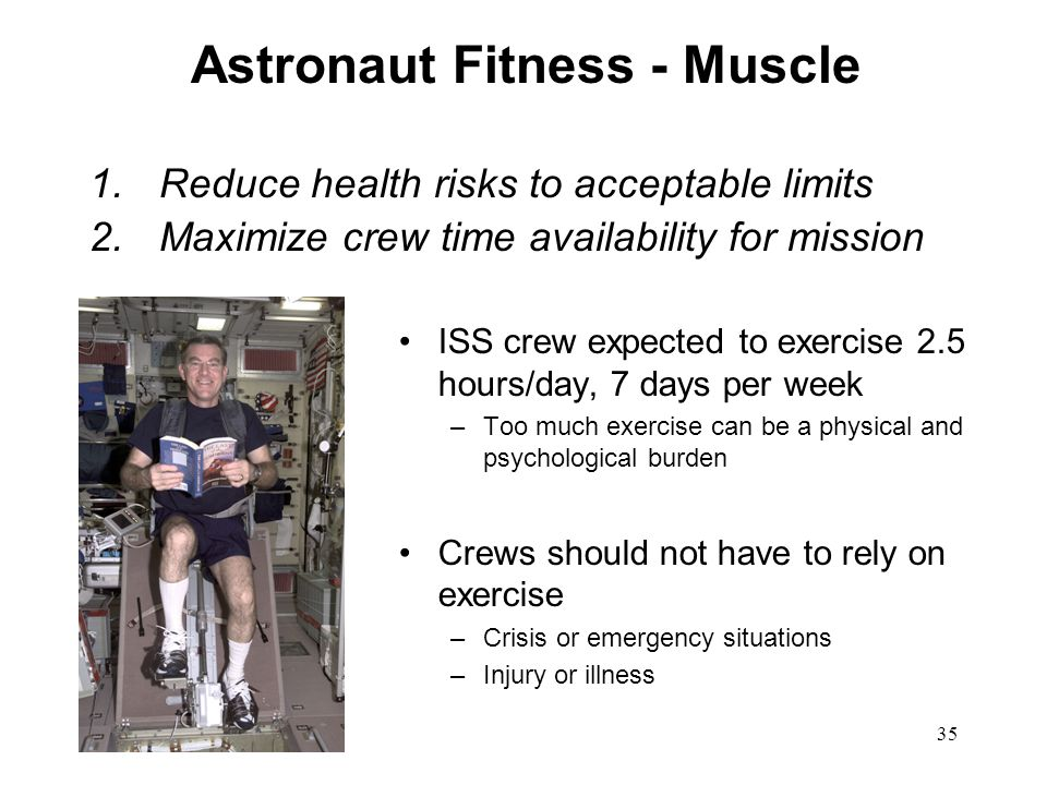 Astronaut Fitness - Muscle
