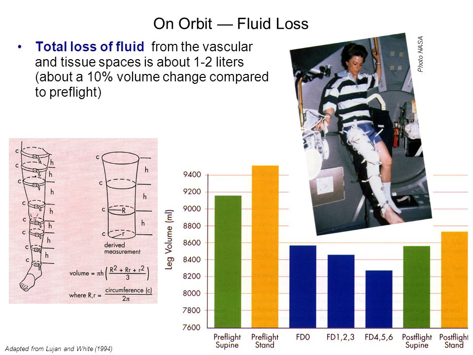 On Orbit — Fluid Loss