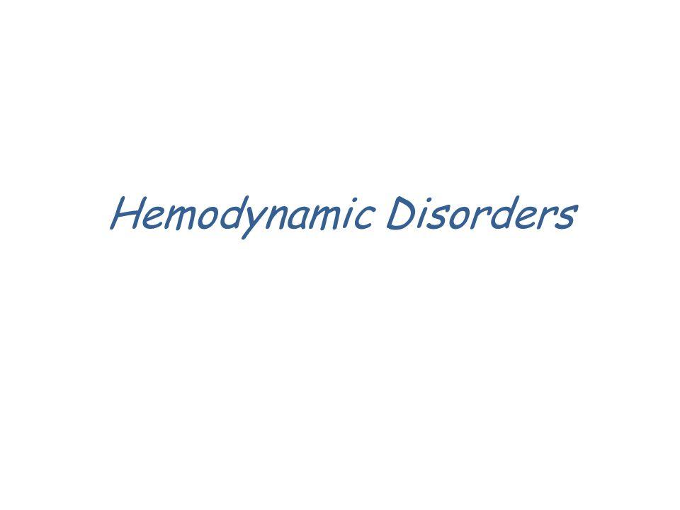 Hemodynamic Disorders
