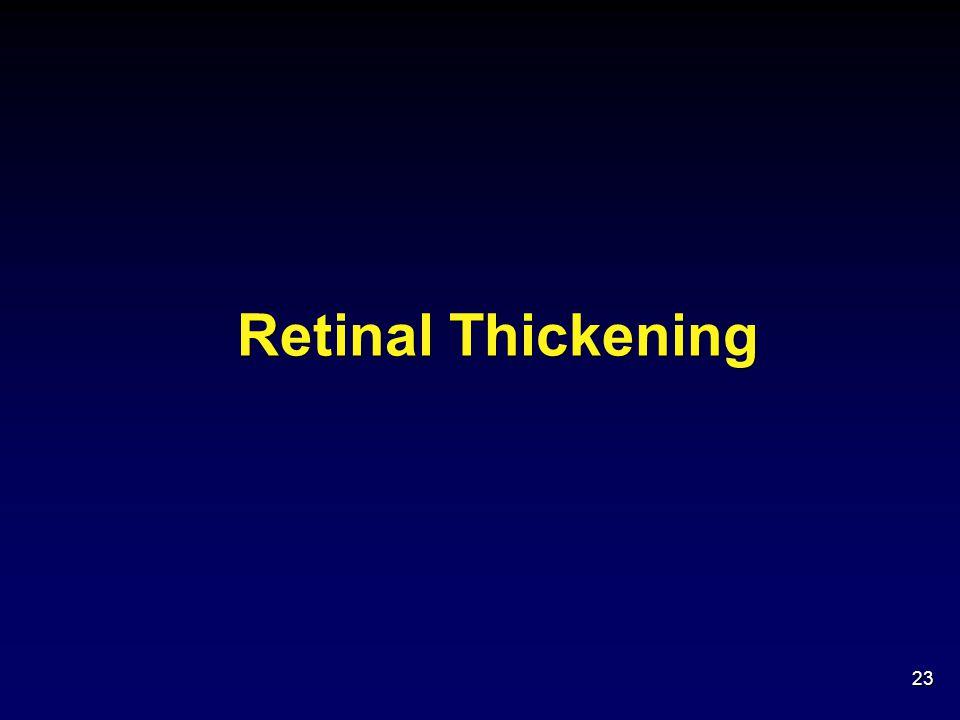 Retinal Thickening