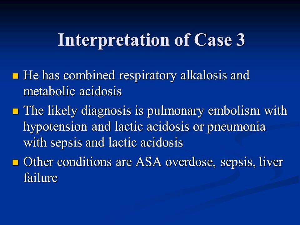 Interpretation of Case 3