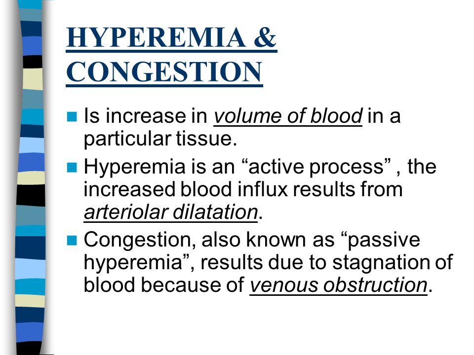 HYPEREMIA & CONGESTION