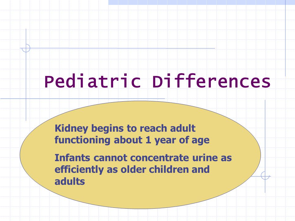 Pediatric Differences