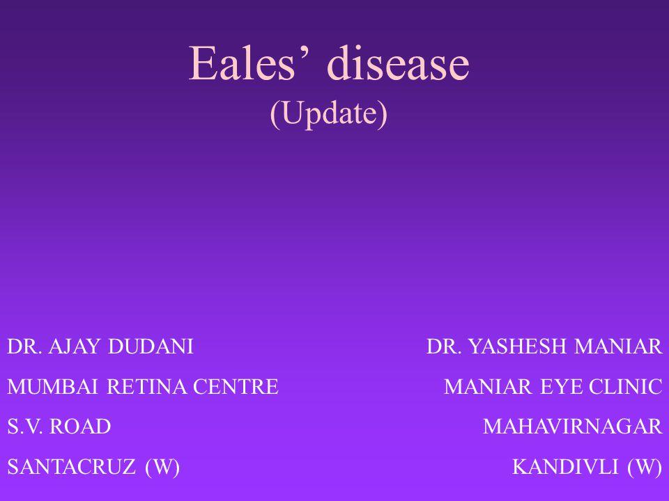 Eales' disease (Update)