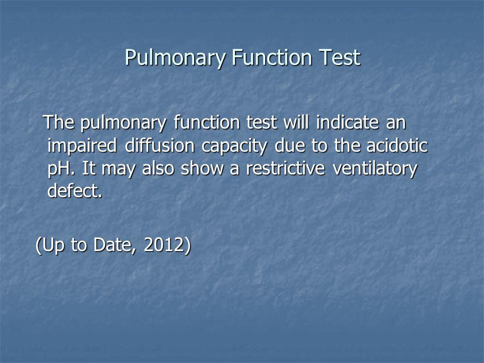 Pulmonary Function Test