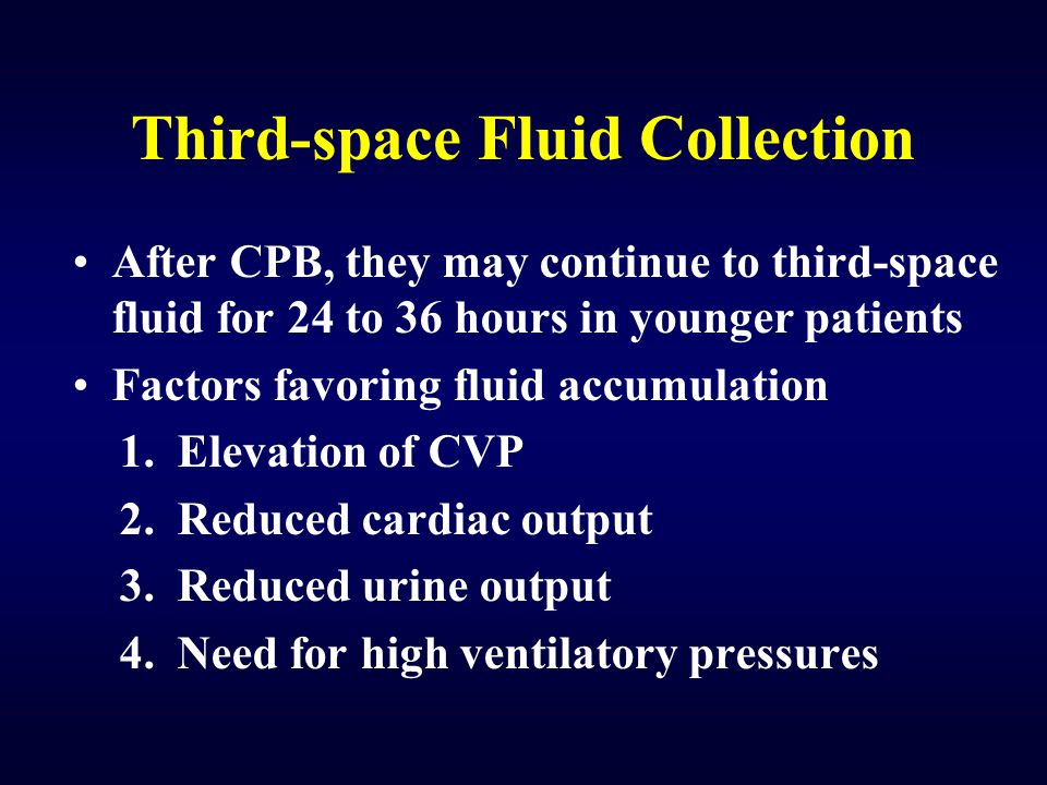 Third-space Fluid Collection