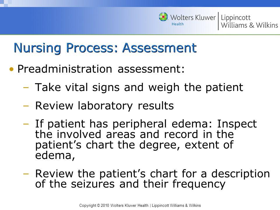 Nursing Process: Assessment