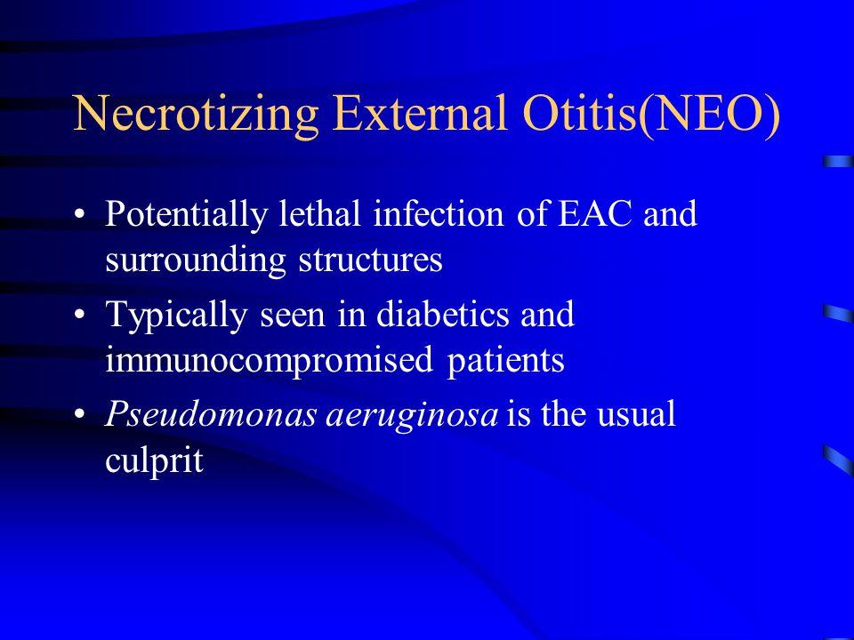 Necrotizing External Otitis(NEO)